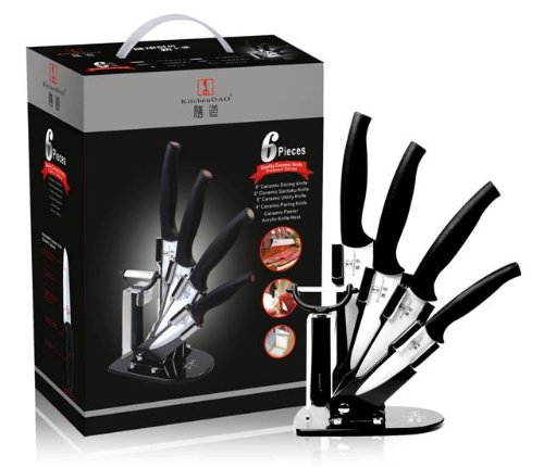 Kitchen Knives 0013 DAO Six Piece Ceramic Kitchen Set