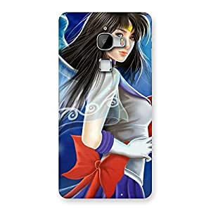 Enticing Looking Angel Multicolor Back Case Cover for LeTv Le Max