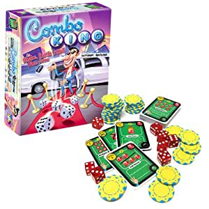 Gamewright Combo King, the Shake, Rattle 'n Roll Dice Game