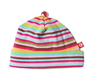 Zutano Super Stripe Hat, Multi, 12 Months