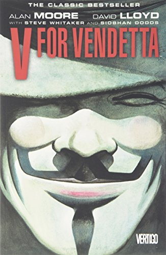 V for Vendetta: Book and Mask Set