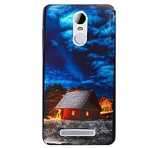 Shopme Printed Designer Back cover_3214_for Xioami Redmi Note 3