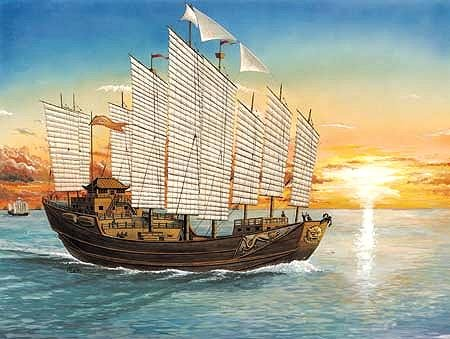 Buy Chinese Explorer Admiral Cheng Ho Sailing Ship 1-250 by Trumpeter