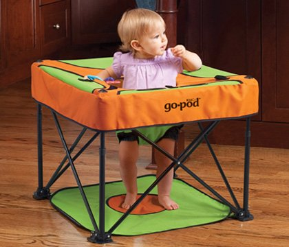 Kidco Go-Pod Baby Activity Seat In Sorbet front-599579