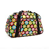 Paul Frank Julius Monkey Holdall Gym Luggage Trolley Holiday Travel Bag Monkey Multi Image Gumball Black