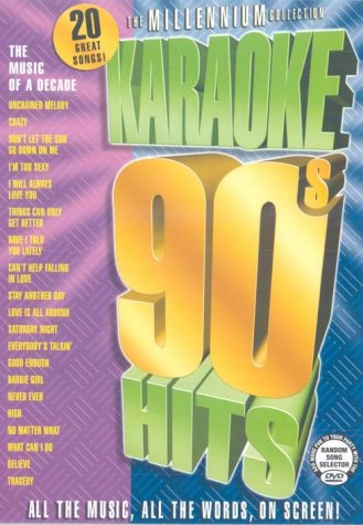 Karaoke 90's Hits - the Millennium Collection [DVD]