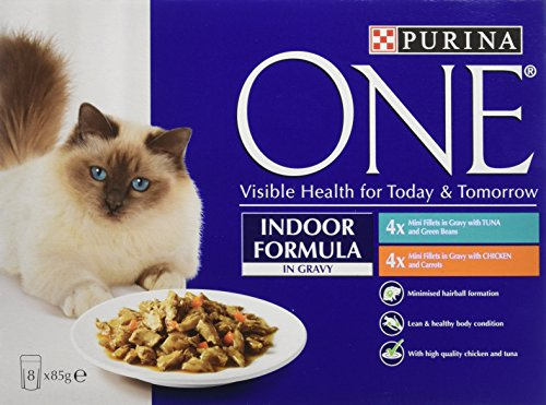 purina-one-indoor-formula-wet-cat-food-tuna-and-chicken-in-gravy-8-x-85-g-pack-of-5