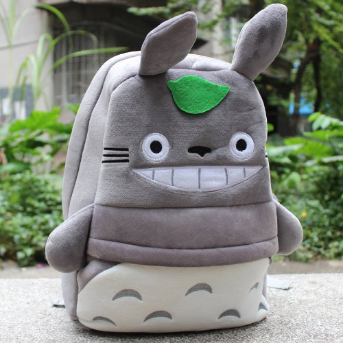 My Neighbor Totoro Plush Backpack Schoolbag - 1