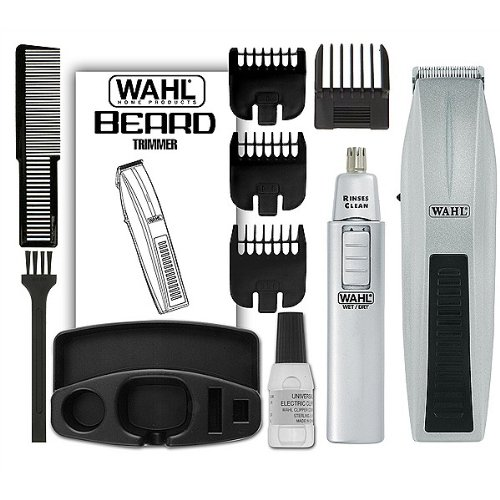 awardwiki wahl mustache and beard trimmer with bonus trimmer 5537 420. Black Bedroom Furniture Sets. Home Design Ideas