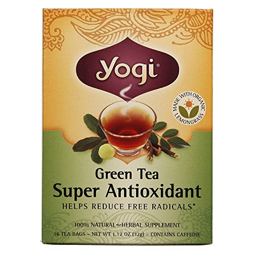 Yogi Tea Organic Teas Green Tea Super Antioxidant - 16 Bags