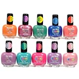 Mia Secret Mood Nail Lacquer Color Changing Nail Polish 10pc Set (10 Different Colors) Full Size Nail Polish by Mia Secret - Best Reviews Guide