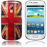 Retro Union Jack Design Coque de protection Hardcase pour Samsung Galaxy S3 Mini i8190
