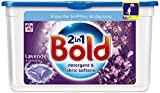 Bold 2 in 1 Lavender and Camomile Washing Capsules Laundry 40 Detergent Washes (Pack of 3)
