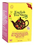 English Tea Shop Organic Pomegranate Blackcurrant Medley Super Teas (Pack of 3, Total 60 Tea Bags)