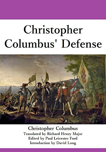 christopher-columbus-defense-english-edition