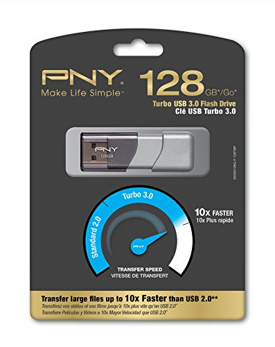 PNY必恩威 Turbo  128GB USB 3.0 高速U盘图片