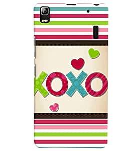 Lenovo A7000 MULTICOLOR PRINTED BACK COVER FROM GADGET LOOKS