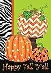 Chevron Pumpkin – Standard Size 28 In…