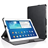 EasyAcc® Samsung Galaxy Note 10.1 2014/ Samsung Galaxy Tab Pro 10.1 Protector Leather Smart Case Book Cover Flip Cover Sleeve Bag Pouch with Stand / Auto Sleep Wake-up for Samsung Galaxy Note 10.1 2014 Edition / Samsung Galaxy Tab Pro 10.1 (Premium PU Le