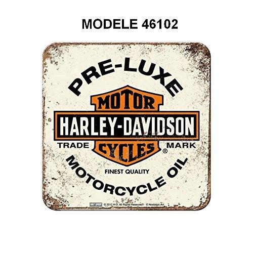 Sous verre Harley Davidson moto Pre Luxe