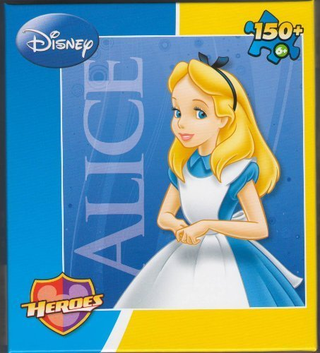Disney Heroes Alice In Wonderland Puzzle 150+ Pieces - 1