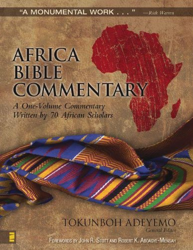Africa Bible Commentary: A One-Volume Commentary Written By 70 African Scholars front-846666