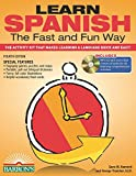 img - for Learn Spanish the Fast and Fun Way with MP3 CD: The Activity Kit That Makes Learning a Language Quick and Easy! book / textbook / text book