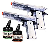 black ops 1911 tactical 2 pack combat kit - clear version b1085(Airsoft Gun)
