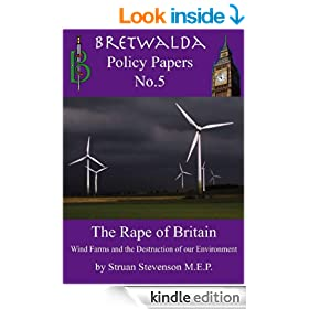 The Rape of Britain - Wind Farms and the Destruction of our Environment (Bretwalda Policy Papers Book 5)
