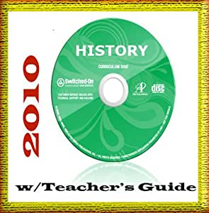 2010 SOS AOP (Alpha Omega HomeSchooling Curriculum), Switched on Schoolhouse 12TH GRADE, (Grade 12) History