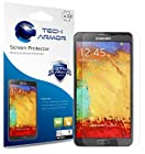 Tech Armor Samsung Galaxy Note 3 High Defintion (HD) Clear Screen Protectors -- Maximum Clarity and Touchscreen Accuracy [3Pack] Lifetime Warranty