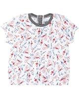 Petit Bateau - T-shirt manches courtes - Uni - Bébé fille