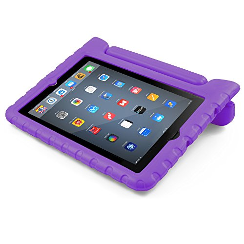 New iPad Case, BUDDIBOX [EVA Series] Shock Resistant [Kids Safe][STAND Feature] Carrying Case for Ap...