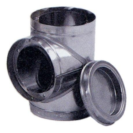 Chimney 77720 SuperChimney 7 Inch Chimney Tee With Plug (Insulated Chimney Plug compare prices)