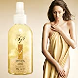 Avon Skin So Soft Mineral Gems Glamorous Gold Shimmering Body Oil Spray