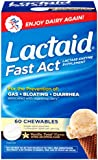 Lactaid Fast Act Chewable Tablets, Vanilla Twist, 60 Count