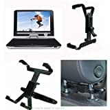 Portable DVD Car Headrest Mount for the Philips PET1030 DVD player