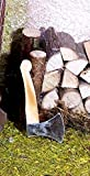 Miniatur Holzbeil mit Metallklinge. Größe 4 cm. Krippenwerkzeuge. W260.