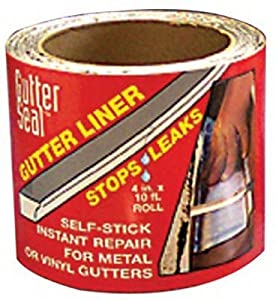 Amazon Com Gutter Seal Gutter Seal Liner Aluminum 4 Quot X