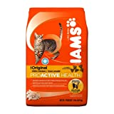 IAMS Original with Chicken Proactive Health Dry Cat Food, 2-Pound Bags (Pack of 8)