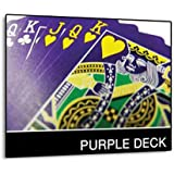Magic Makers The Purple Deck Bicycle Playing Cards