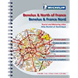 Road Atlas Benelux and N. France (Michelin Tourist & Motoring Atlases) (Michelin Tourist and Motoring Atlases)by Michelin