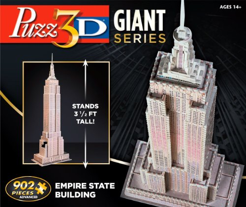 Puzz 3D Giant Series Empire State Building (3d Puzzles Advanced compare prices)