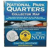 National Park Quarter Foam Map