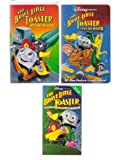 Disney Presents the Brave Little Toaster VHS Set of 3