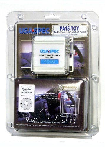 Usa Spec (Pa15-Toy) Ipod To Factory Radio Interface For Select Toyota Vehicles