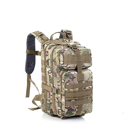 Outdoor sac à dos d'alpinisme / ventilateurs militaires sac / sac étanche de camouflage tactique-2 40L