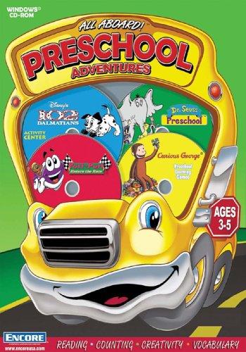 All Aboard Preschool Adventures (102 Dalmatians, Dr Suess, Lego Creator, Arthur's Reading Race)