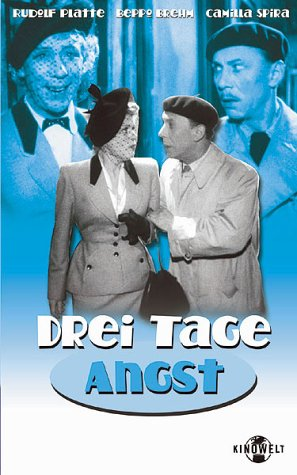 Drei Tage Angst [VHS]