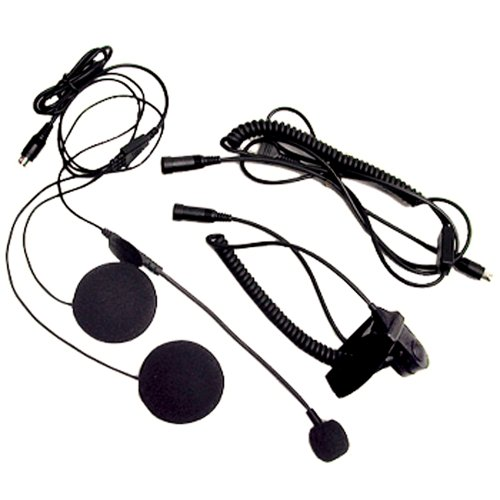 Midland Avph1 Open Face Helmet Headset For Midland Gmrs